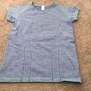 Girls Ivivva purple/green tint shirt
